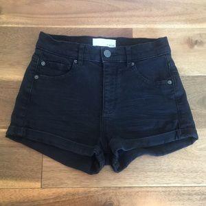 Garage Jean High Waist Shorts